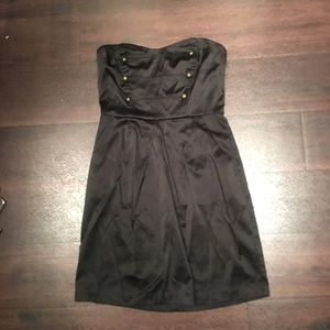 27. Charlotte Russe military strapless dress